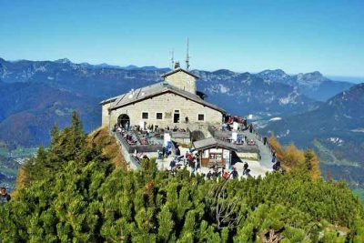 Spectacular Bavarian Alps views from the Eagle's Nest.