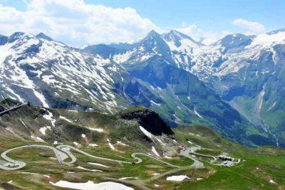 Grossglockner High Alpine Road to get up to Austria's highest mountain.