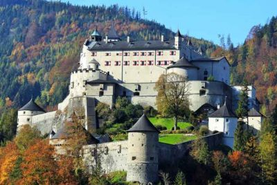 A 11th century Werfen Castle