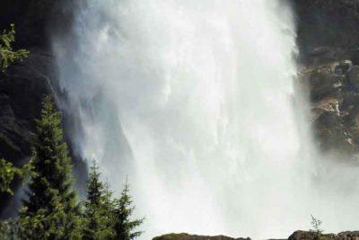 Krimmler Wasserfälle.