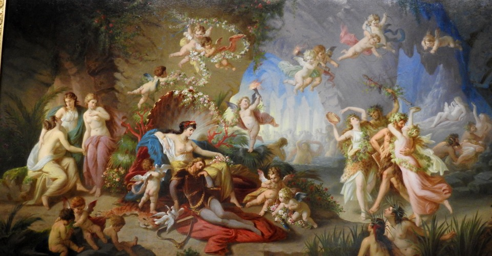 Chiemsee-Palace-paintings