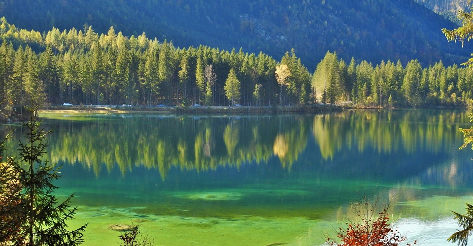 Hintersee-Green-Lake
